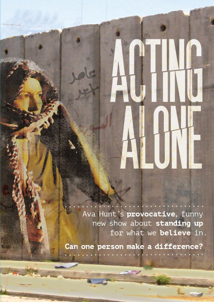 Acting Alone flyer image